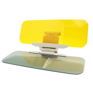 2 in 1 Anti-Glare Visor Day Night Car Visor Extender Car Sunshade