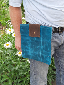 Wax Canvas Foraging folding bag - VEGAN
