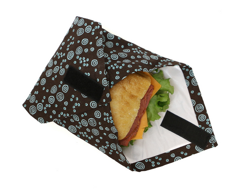 Zero Waste, Eco Friendly & Handmade  - The Sandwich Wrap