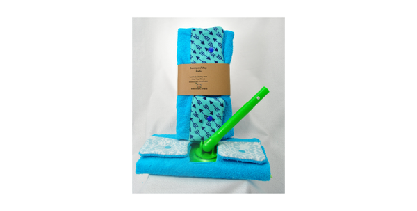 Sweeper reusable pad