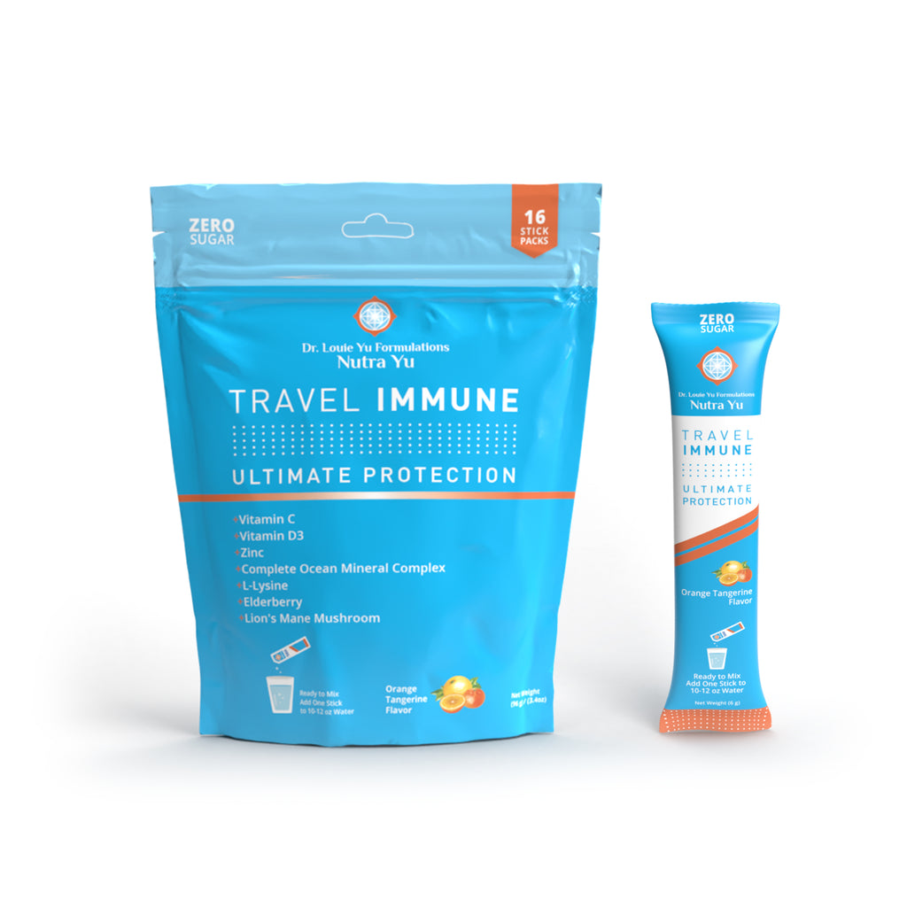 TRAVEL  IMMUNE - Orange Tangerine (16 Stick-Pack)