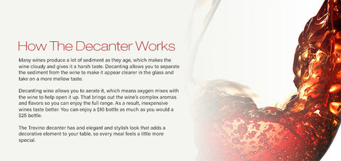 How The Decanter Works
