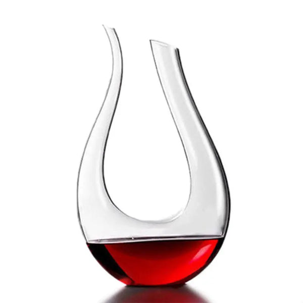 Trovino™ Luxury Lead-Free Crystal Glass Red Wine Decanter, Carafe And Aerator