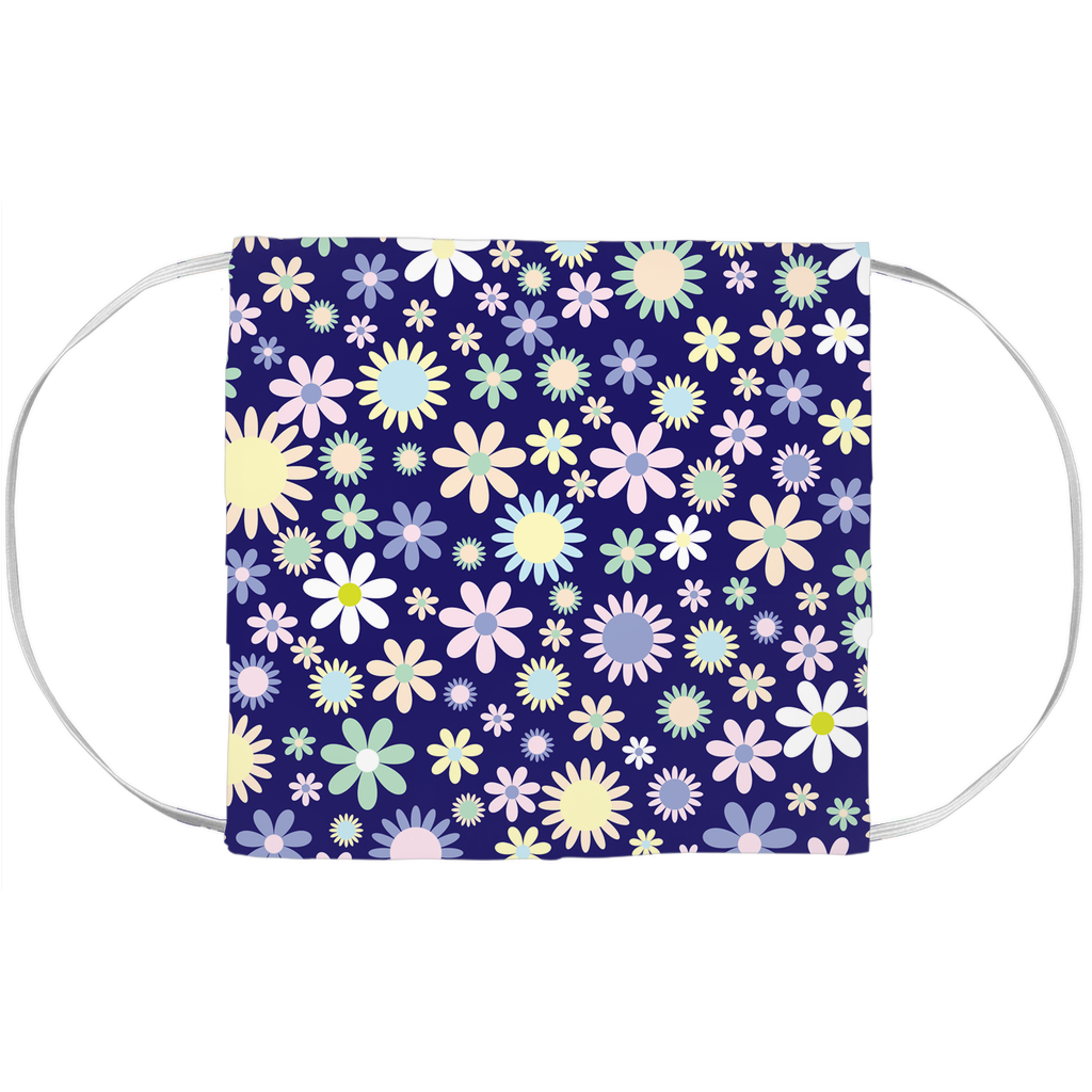 Face Mask Cover - Floral Pattern (7x3.5 Inch)