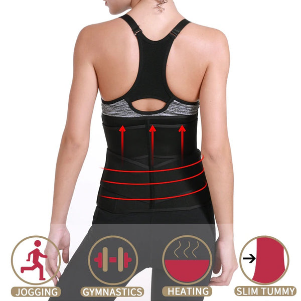 Hourglass Queen Waist Trainer Neoprene Tummy Shapewear