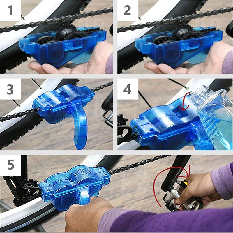SparkleLink Bike Chain Cleaner Instructions
