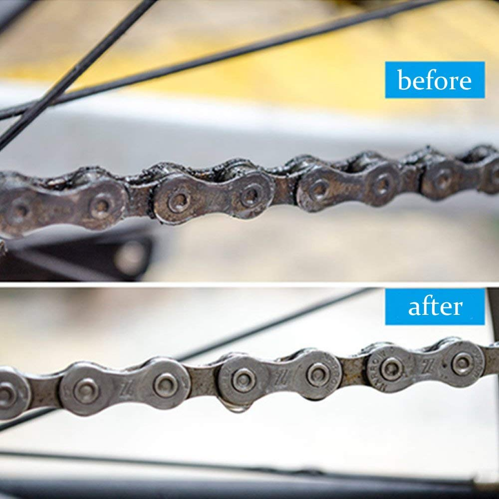SparkleLink™ Bike Chain Cleaner | Bicycle Chain Link Cleaner