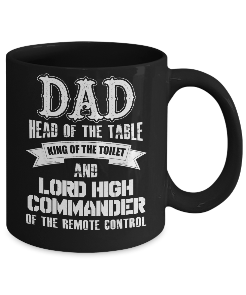 Dad, Head Of The Table | Father Gift Mug | 11oz or 15oz