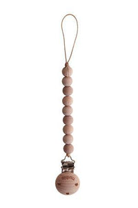 Mushie Fopspeenketting Cleo Wood/Wood