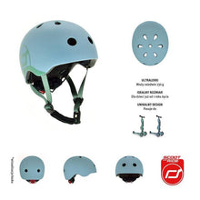 Afbeelding in Gallery-weergave laden, Scoot and Ride Helm Blauw XS