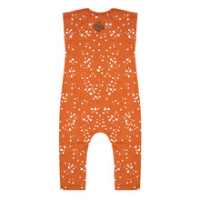 Afbeelding in Gallery-weergave laden, Little Indians Jumpsuit Wild Stars Bombay Brown