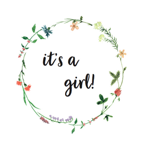 Jut & Julie Wenskaart 'It's a girl'