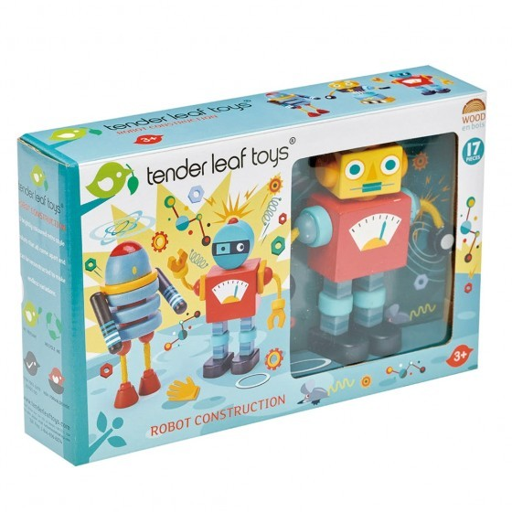 Tender Leaf Toys Houten Robot Construction