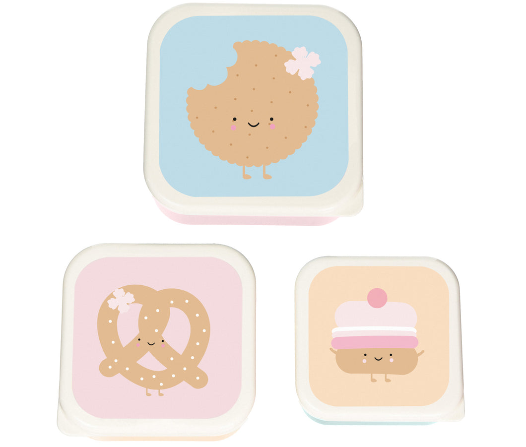 Eef Lillemor Snackdoosjes Sweeties Set van 3