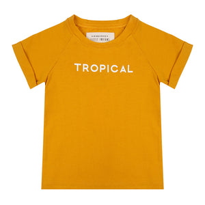 Little Indians Shirt Tropical Summer Flower
