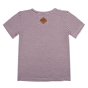 Little Indians T-Shirt Find Your Wave Purple Stripe