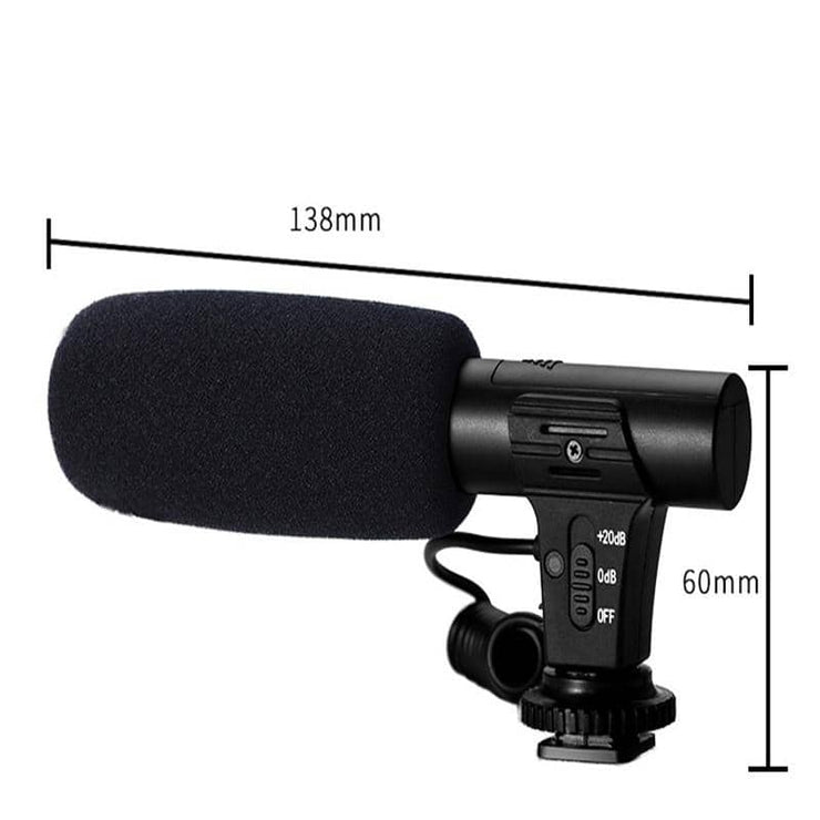 3.5mm Directional Camera Microphone Audio
