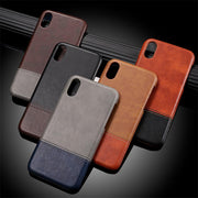 Leather Two-Toned iPhone Case Case, iPhone, Leather
