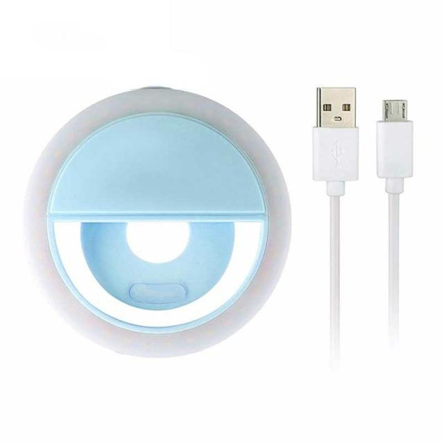 LED Ring Light for Mobile iPhone, Lighting