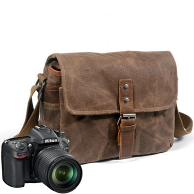 The Tanner - Camera Messenger Bag Bag, Camera, Leather