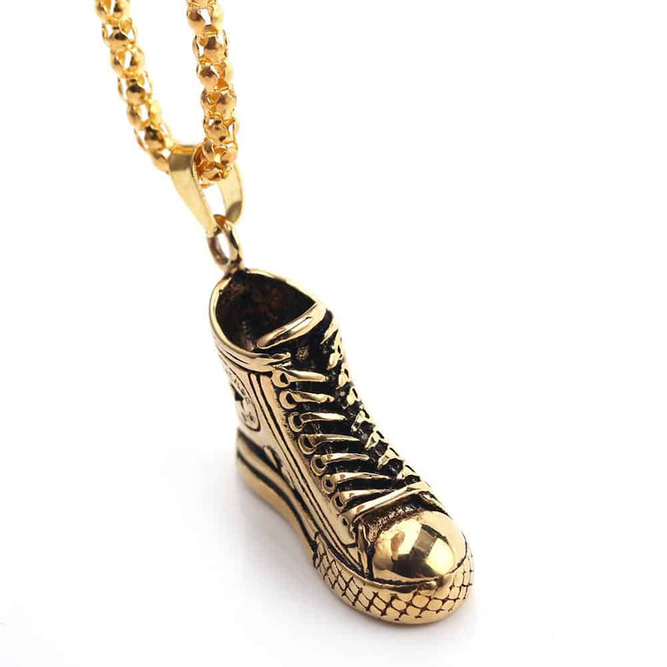 The Urban Fashionista - High Top Sneaker Necklace Accessory