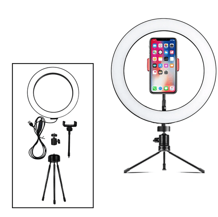 Tabletop LED Ring Light Lighting