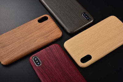 Flex Wood Grain iPhone Case