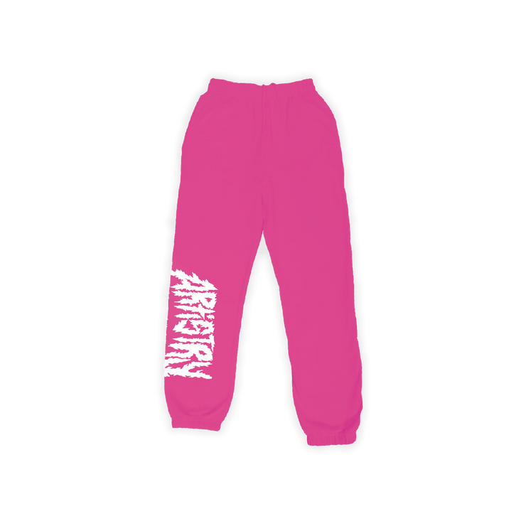 Metal Artistry Sweats Neon Pink