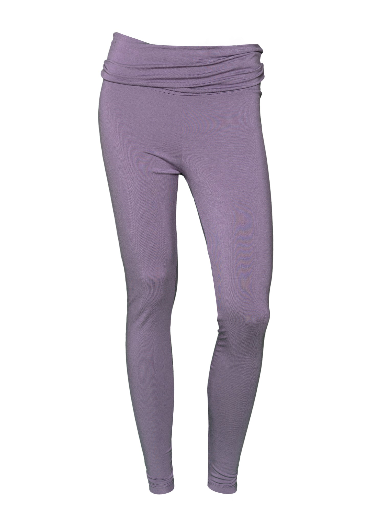Louis & Louisa YOGA LEGGINGS fliederfarben mit breitem Bund ultraweich