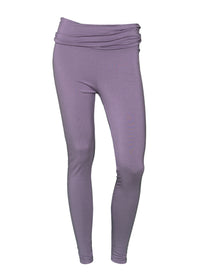 Louis & Louisa YOGA LEGGINGS fliederfarben mit breitem Bund