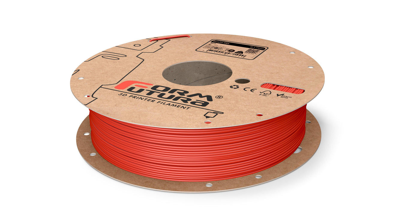 EasyFil ABS 1.75mm Red 750g ( NZ Stock)