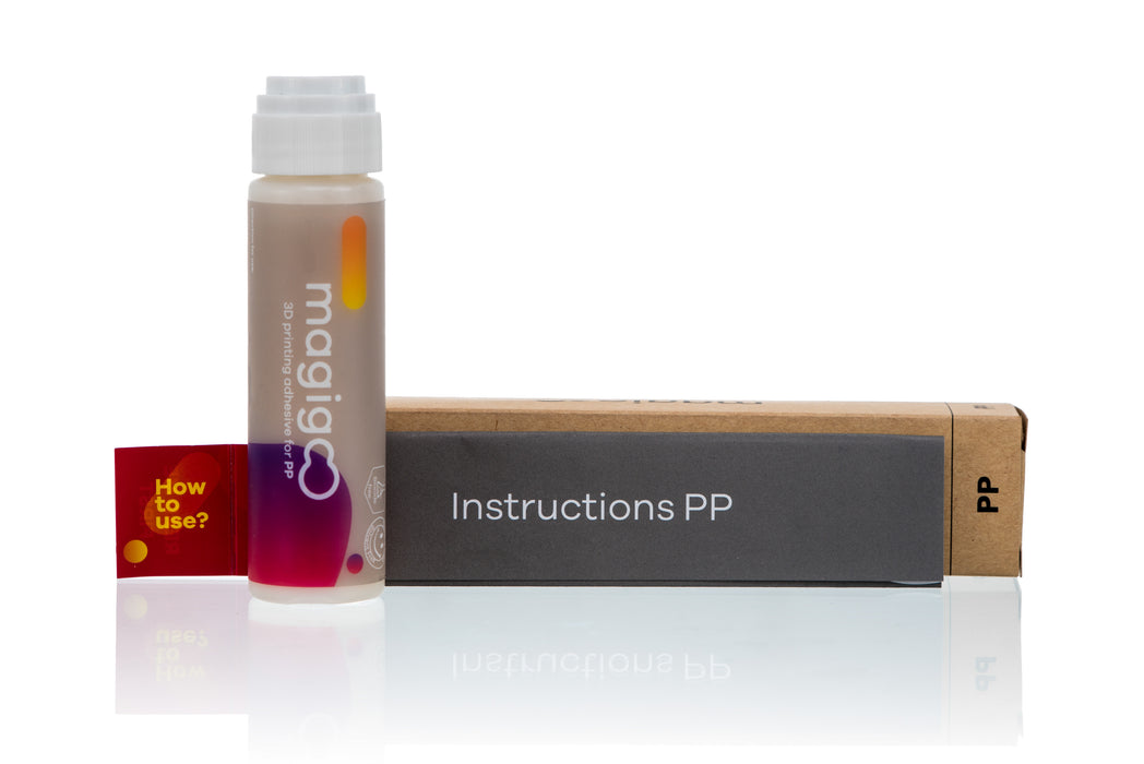 Magigoo PP - The 3D printing adhesive for Polypropylene