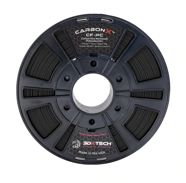 CarbonX™ Carbon Fiber Reinforced Polycarbonate (PC) Filament ( NZ Stock)