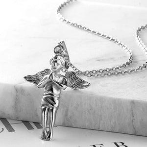 Angle Pendant & Necklace