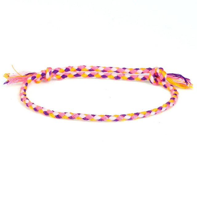 Tibetan Cotton Rope Bracelet