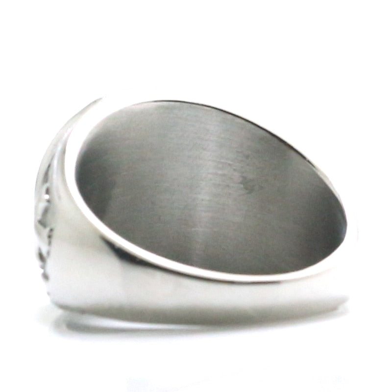Saint Benedict Stainless Steel Ring