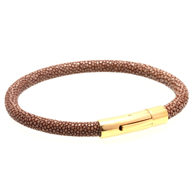 Lux Genuine stingray leather bangles