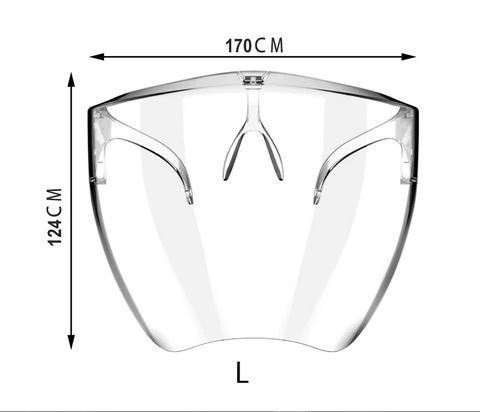 Better Living Emporium Beautiful Stylish Face Shield COVID Safety PPE 9