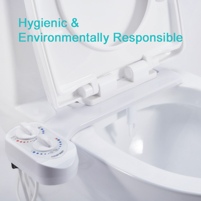 Easy-Install Toilet Bidet Attachment