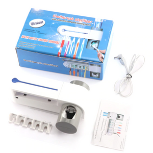 UV-C Toothbrush Sanitizer and Dispenser