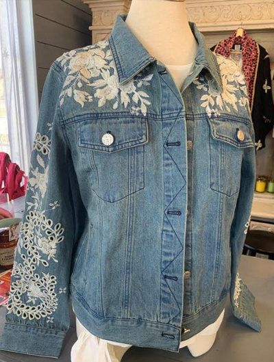 Embroidery Jean Jacket