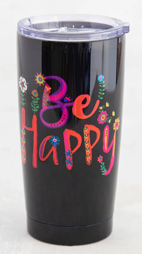 Be Happy Tumbler