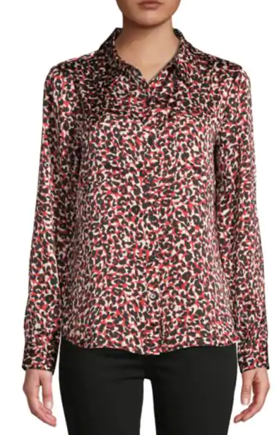 Red Cheetah Shirt