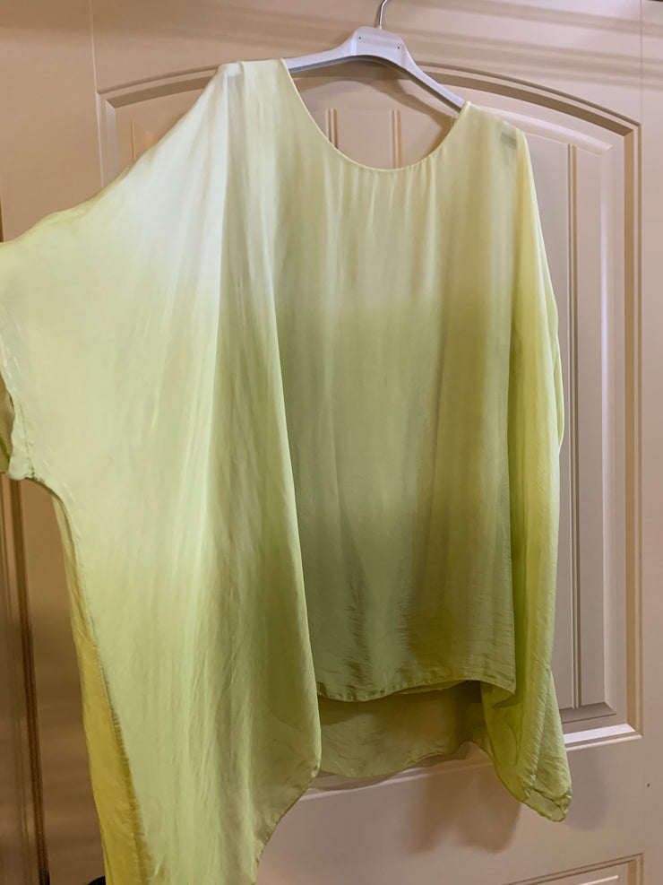 Ombre Silk Kaftan- long