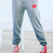 Grey Love Joggers