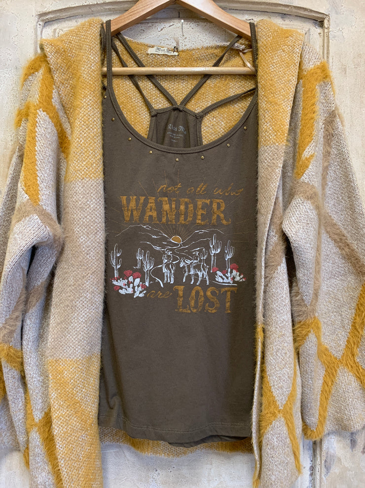 All Who Wander Cami Top
