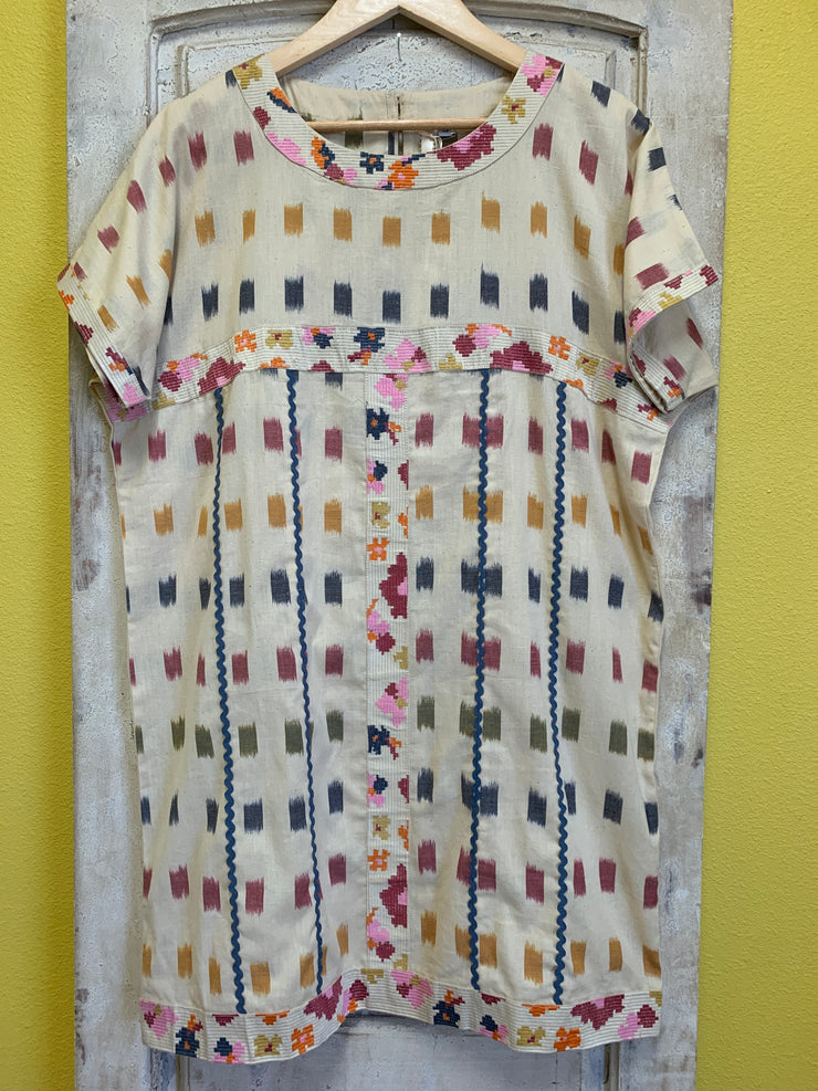 Uncle Frank Ikat Tunic Dress
