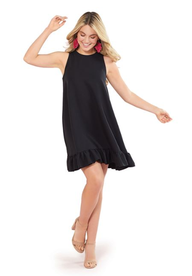 Mellie Swing Dress Black