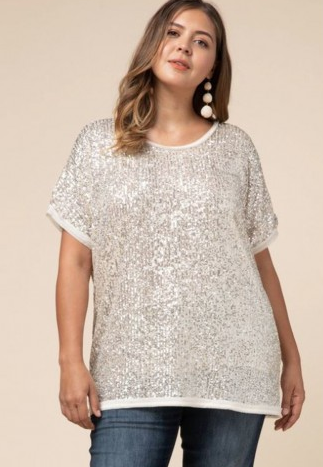 Sequin Shirt