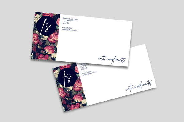 Business Stationery - Compliment Slips